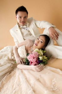 Our first wedding session