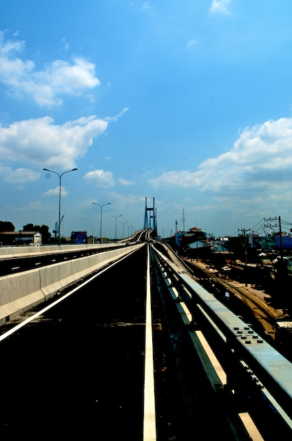 Phu My bridge, Ho Chi Minh City, Vietnam