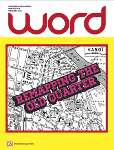 Word Magazine, Hanoi edition, art direction by Mads Monsen