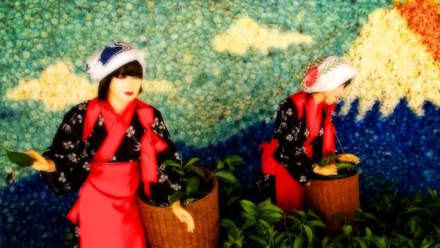 The flower girls.