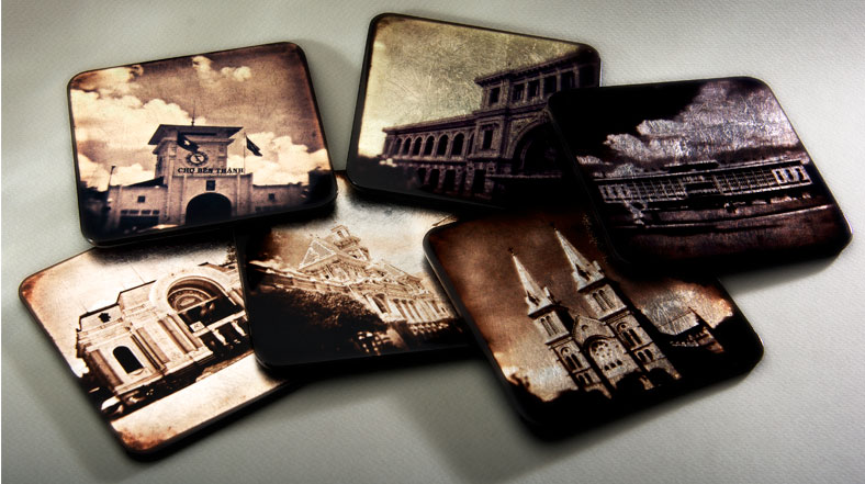 Lacquerware coasters by Studio MadsMonsen –SGN by SMM